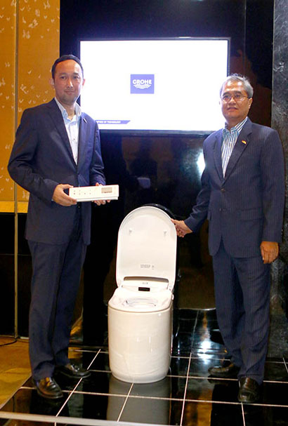 LAMPUNG POST | Grohe Luncurkan Smart Shower Toilet