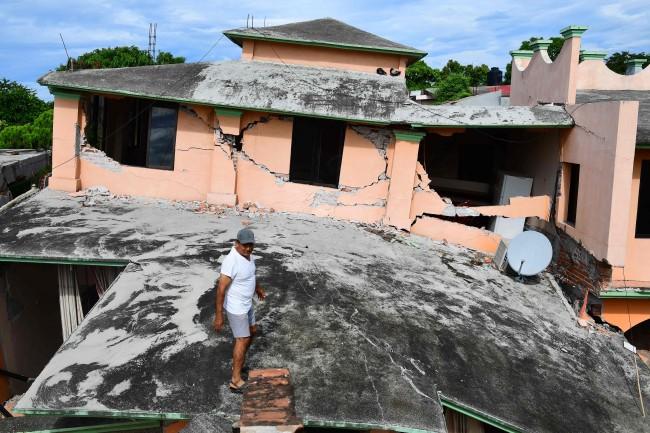 LAMPUNG POST | Korban Tewas Gempa Meksiko Mencapai 90 Orang