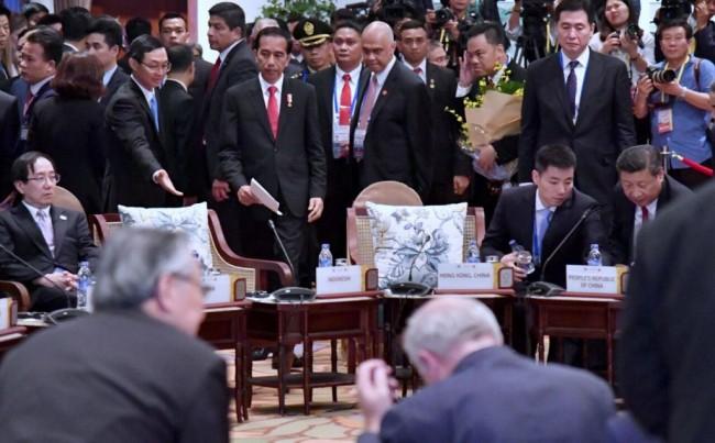LAMPUNG POST | Tiga Pesan Indonesia di Forum KTT APEC