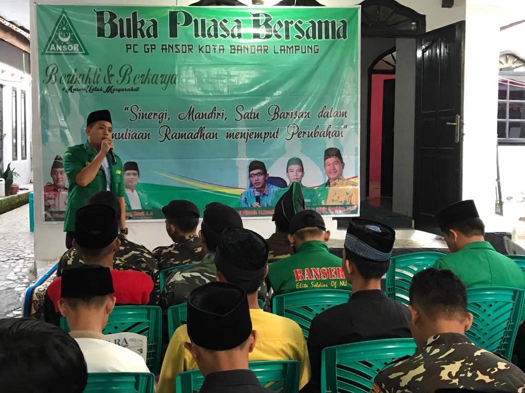 LAMPUNG POST | GP Ansor Bandar Lampung Tolak Ormas Anti-NKRI