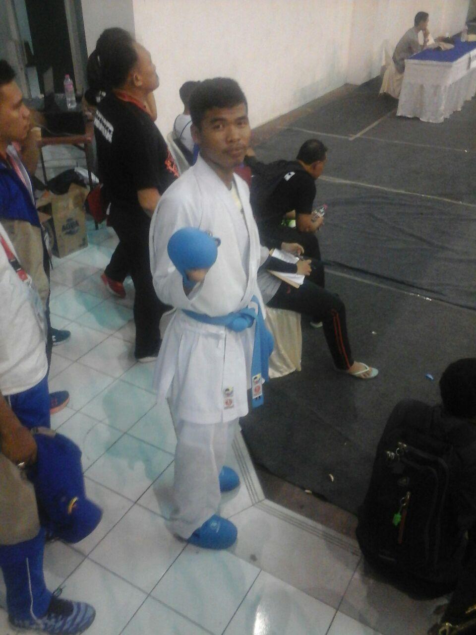Karateka Halim Sabet Emas Popnas