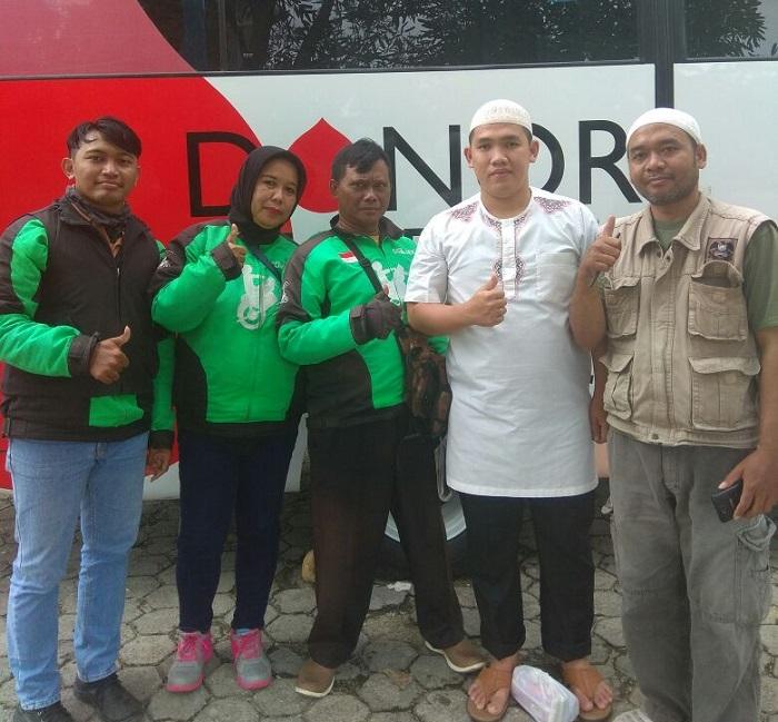 LAMPUNG POST | Koober Lampung Laksanakan Baksos Donor Darah
