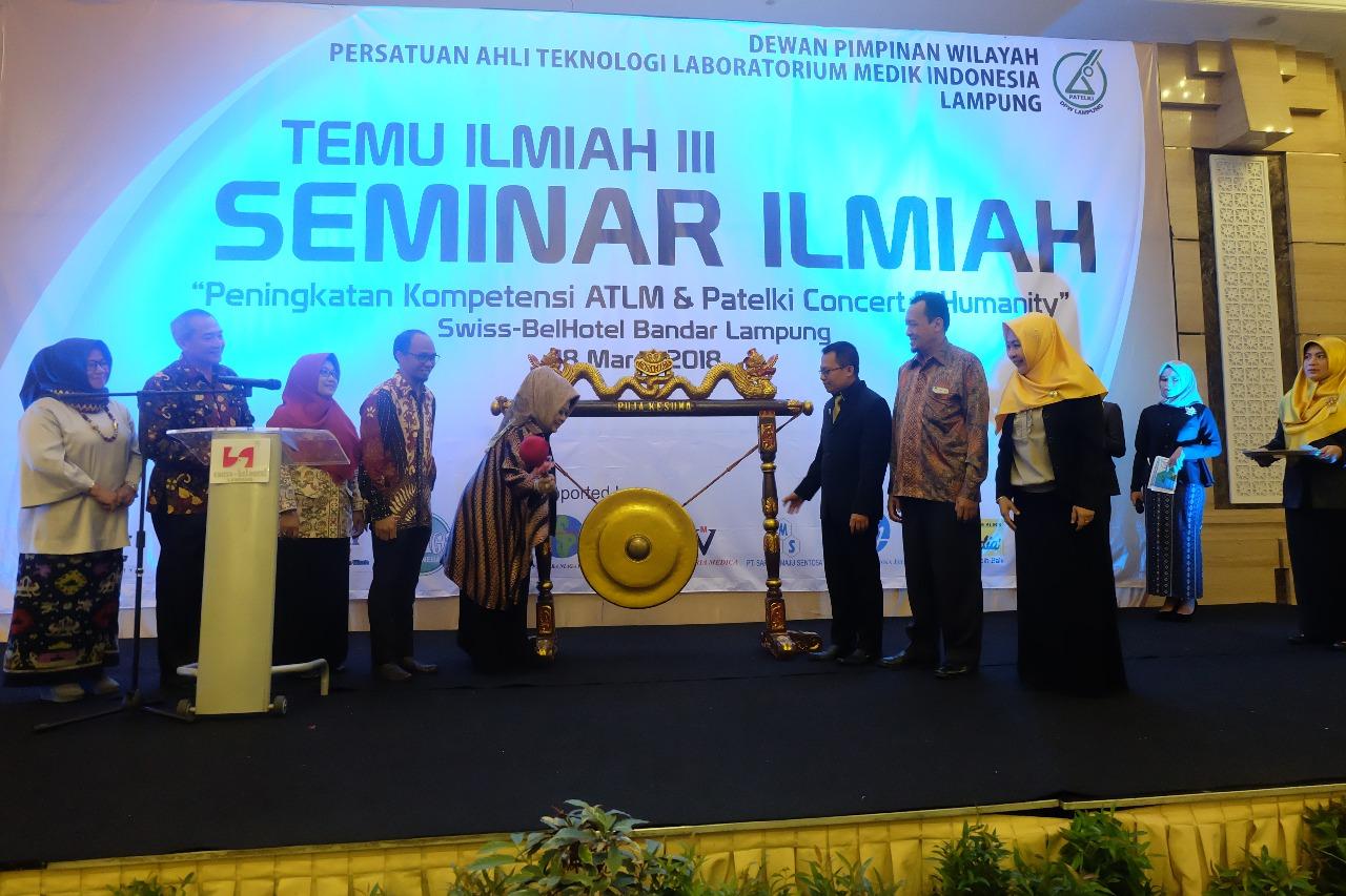 Patelki Lampung Adakan Temu Ilmiah III Diikuti Ratusan Peserta