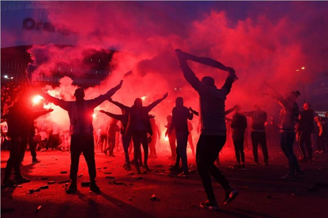 LAMPUNG POST | Dihukum UEFA, Marseille Tanpa Fan di Perempat Final Liga Europa