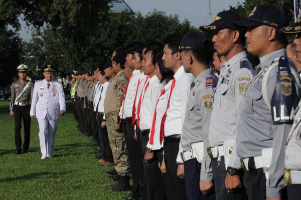 LAMPUNG POST   Lampung Tengah Gelar Apel Ramadniya 2017