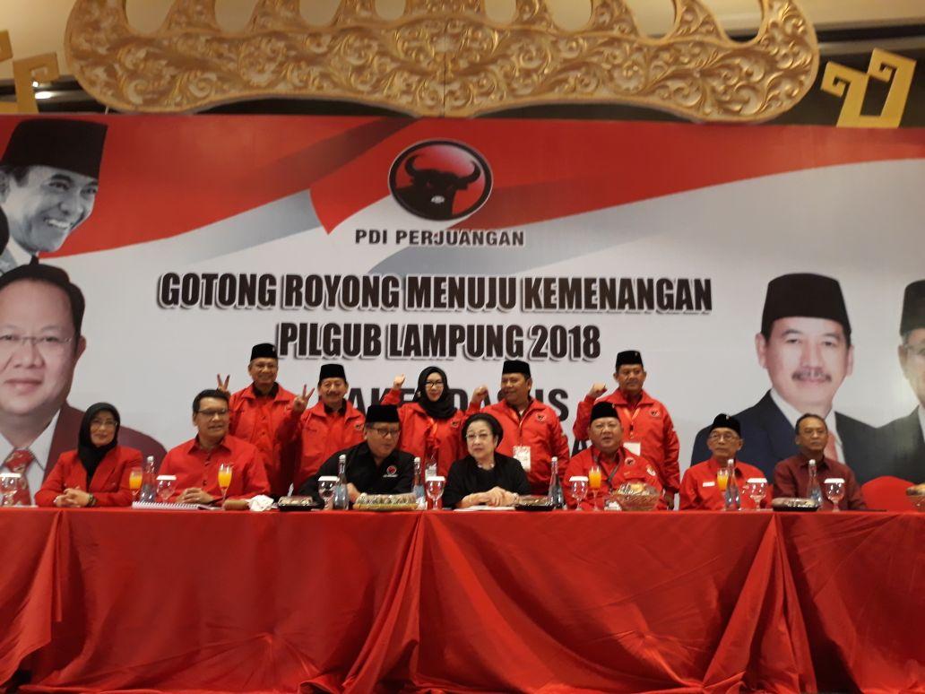 Megawati Pimpin Rakerdasus Tertutup Buat Awak Media