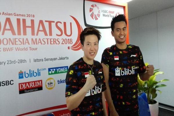 Owi/Butet Raih Tiket Perempatfinal Indonesia Masters