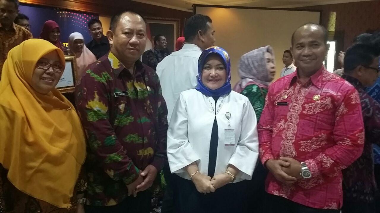 Disdukcapil Bandar LampungRaih Penghargaan dari Kemenpan-RB