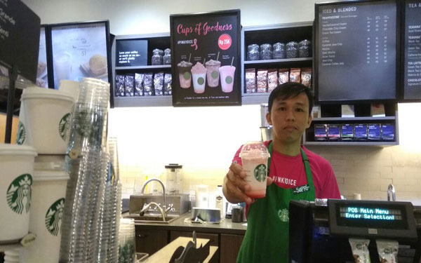 LAMPUNG POST | Ngopi Sambil Beramal ala Starbucks