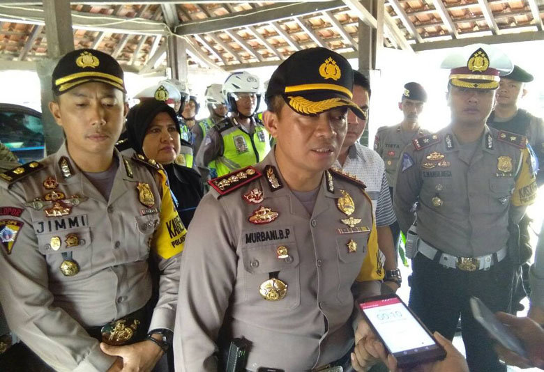 LAMPUNG POST | Polresta Jamin Keamanan Bandar Lampung Selama Idul Fitri