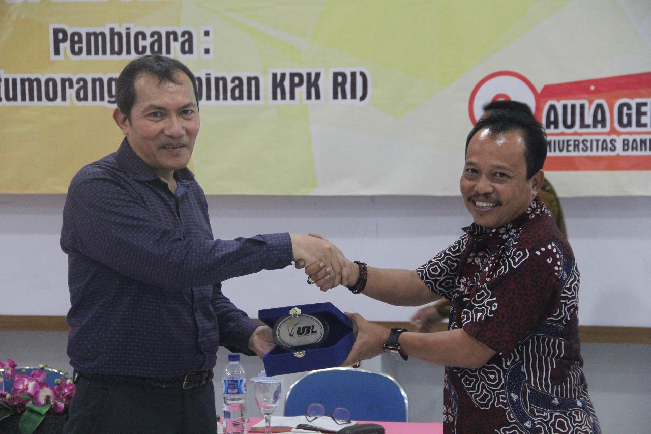 LAMPUNG POST | Wakil Ketua KPK Ajak Mahasiwa Lampung Berintegritas