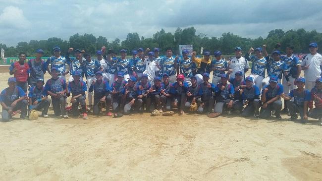 Lampung Tantang DKI di Semifinal Kejurnas Bisbol U-18