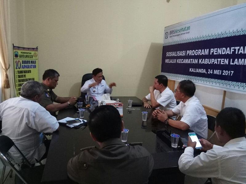 LAMPUNG POST   Pemkab Tanjung Jabung Barat Kunjungan Kerja ke Lamsel