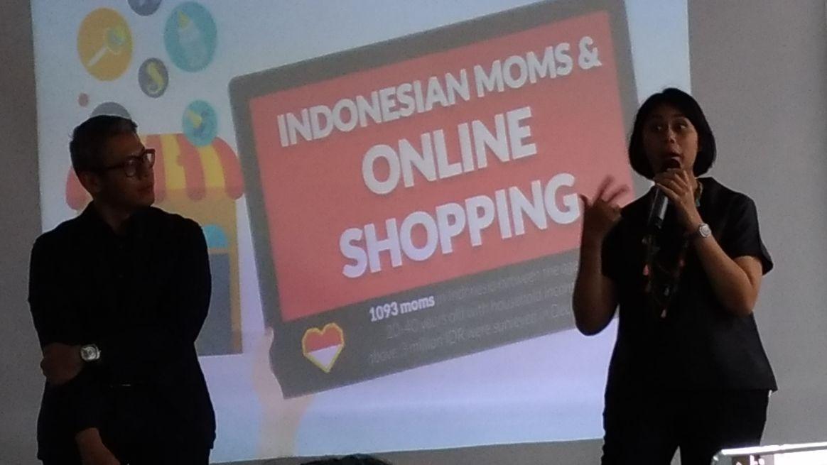 98 Persen Para Ibu Lebih Suka Belanja Online