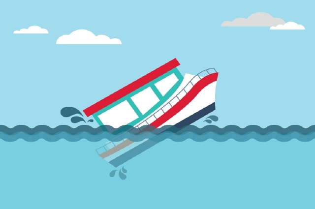 LAMPUNG POST | Kapal Karam, Wakapolres Labuhanbatu Hilang