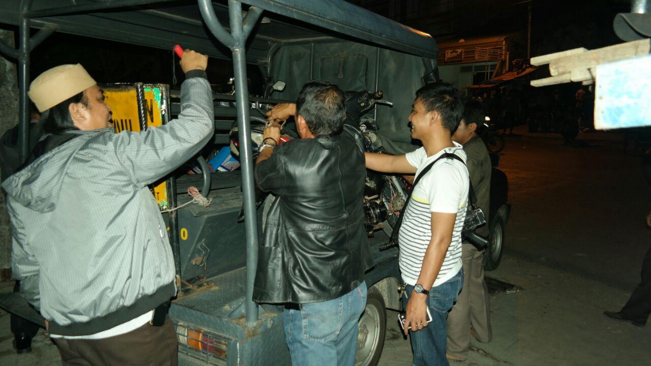 LAMPUNG POST | Kerap Pesta Minuman Keras di Ruko Kosong, 8 Ramaja Diamankan Polsek Tanjungkarang Timur