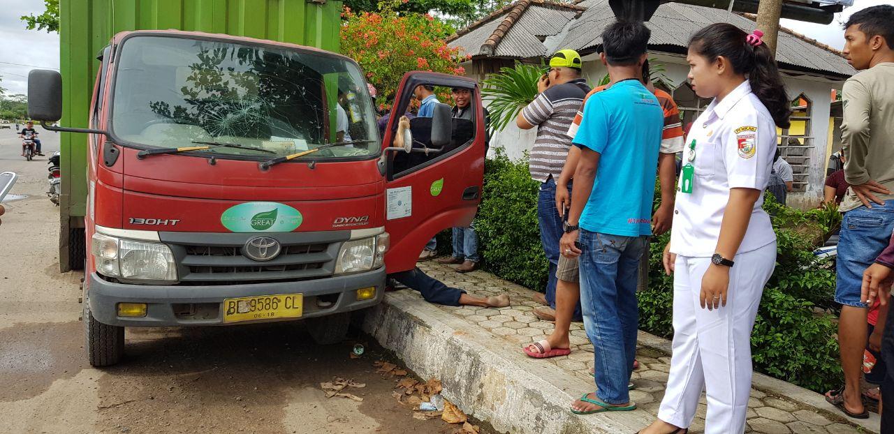 LAMPUNG POST | Sopir Yang Tewas di Pasar Panaraganjaya Warga Bandar Lampung