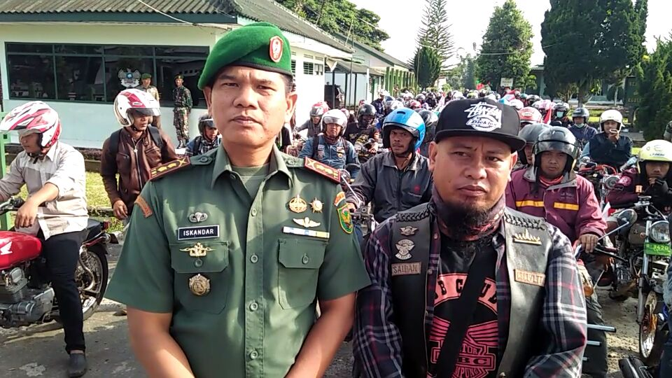 LAMPUNG POST | CB Club Lampung-Kodim Lambar Gelar Diskusi Kebangsaan