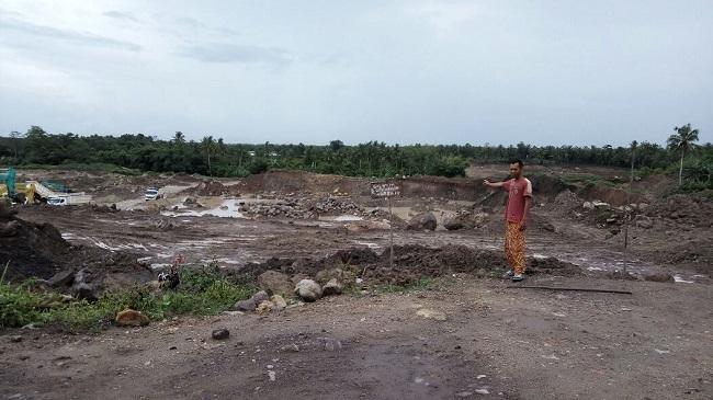 Warga Canggu Hentikan Aktivitas Galian Tanah