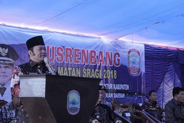 Kecamatan Sragi Gelontorkan Anggaran Rp48,7 Miliar untuk Pembangunan
