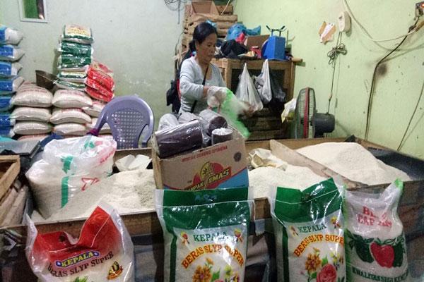 Harga Beras di Lampung Sentuh Rp13 Ribu