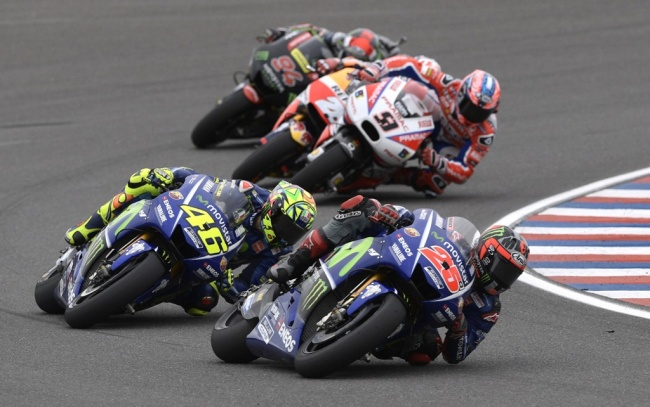 LAMPUNG POST | Duo Yamaha Start Terdepan di MotoGP Prancis