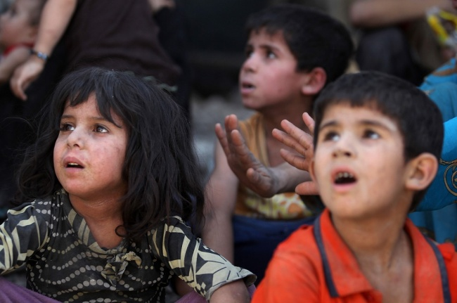 LAMPUNG POST   Anak-Anak Mosul