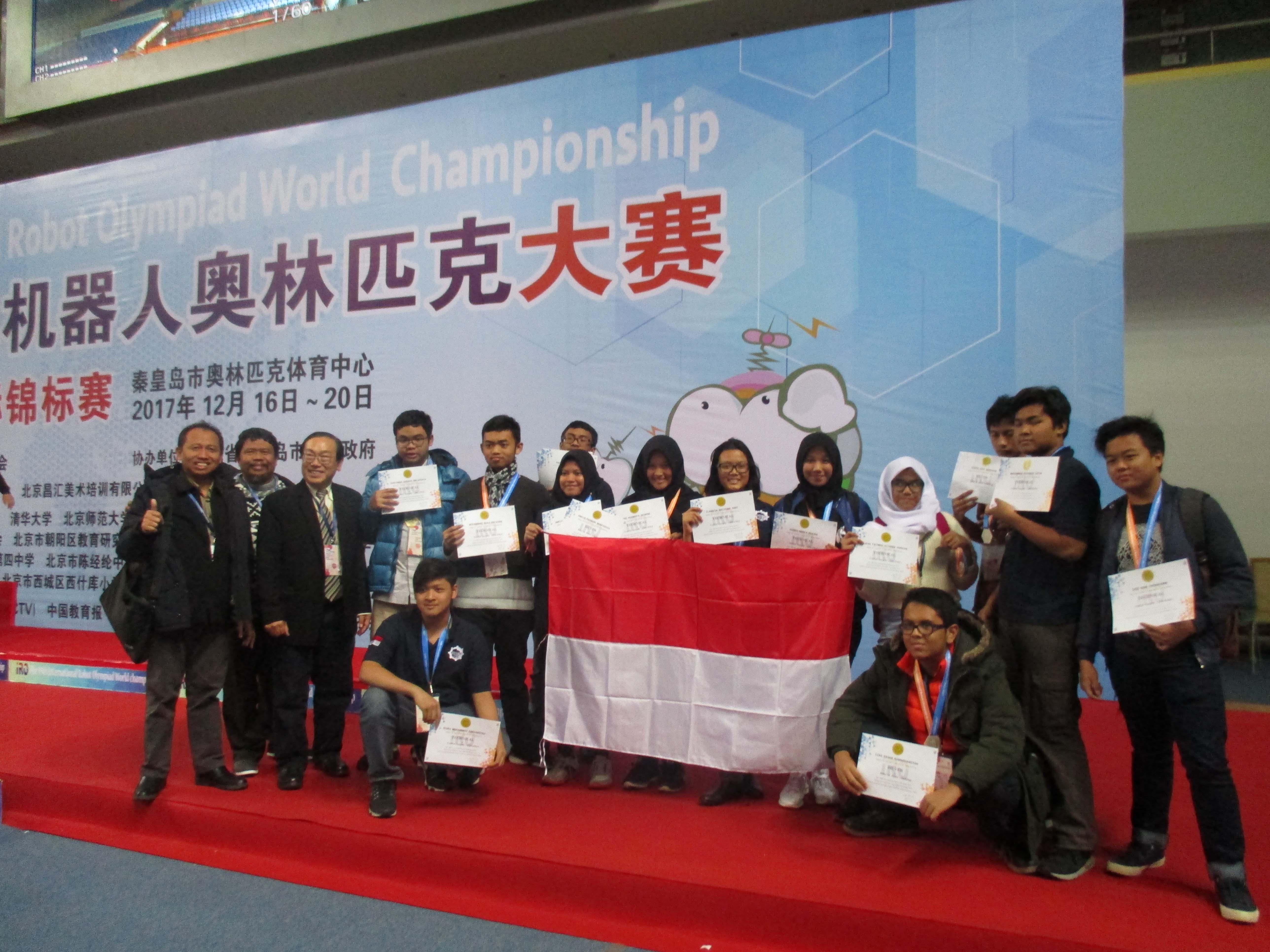 Tim Indonesia Raih Perak di IRO 2017