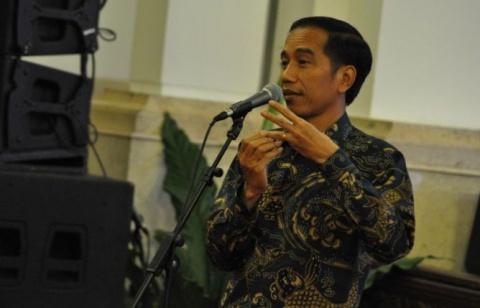 LAMPUNG POST | Jokowi Lepas Kontingen Indonesia ke Sea Games Kuala Lumpur