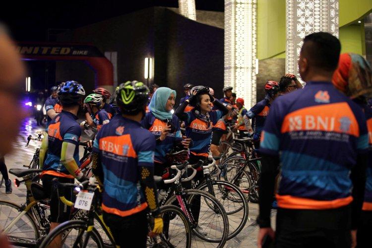 BNI-Korlantas Gelar Tur Sepeda Jakarta-Lampung