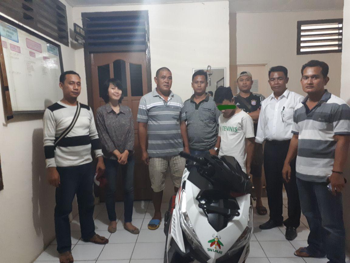 LAMPUNG POST | Tekab 308 Polres Lamsel dan Polsek Palas Bekuk Pelaku Pencurian dan Penadah
