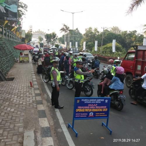 1.055 Pelanggar Lalin Terjaring di Lampung Barat
