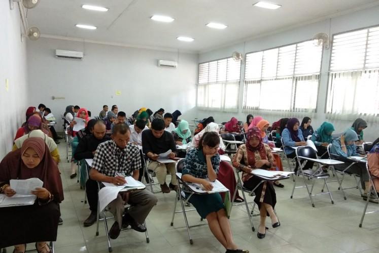 1.341 TKS Lampung Barat Ikut Seleksi Honor Daerah di Bandar Lampung