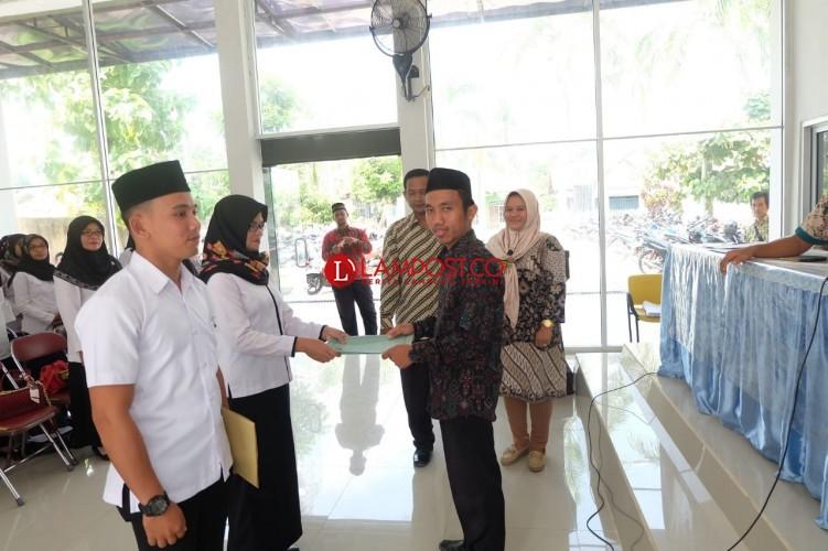 1.735 Pengawas TPS di Lamsel dikukuhkan