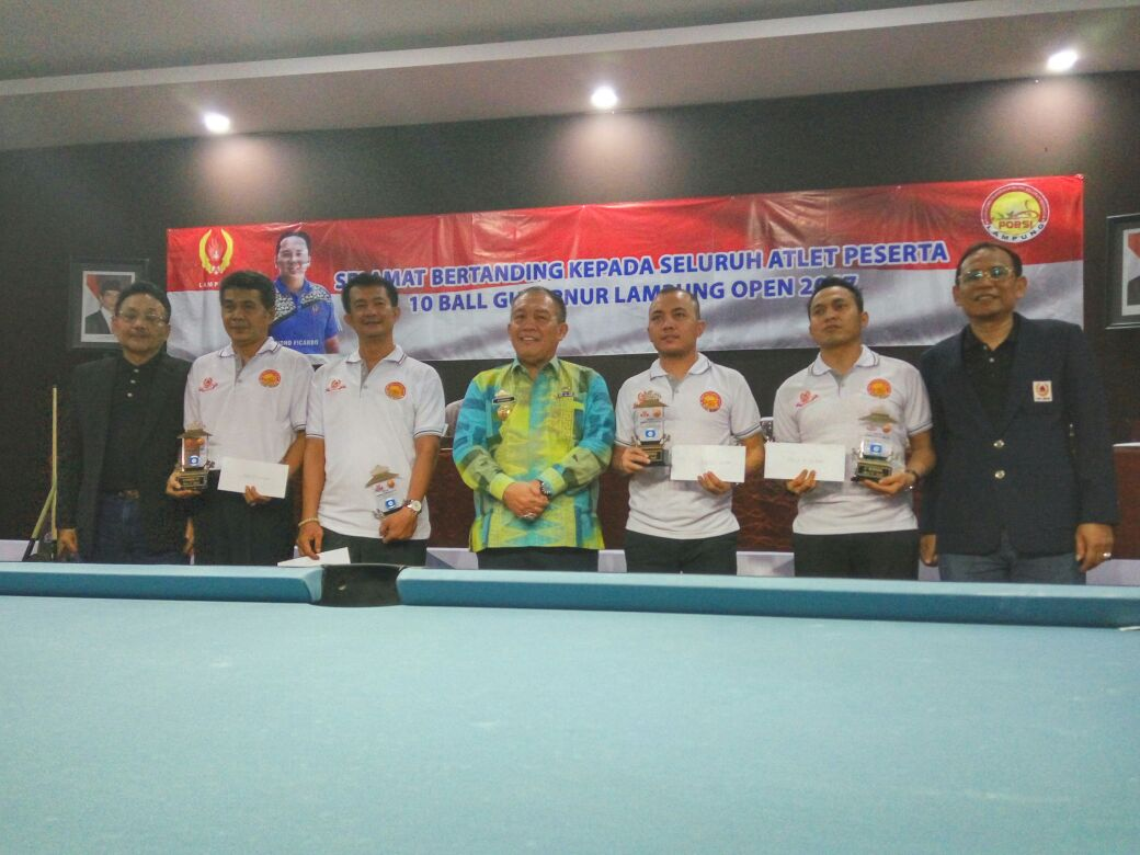 Pebiliar Lampung Finis 16 Besar