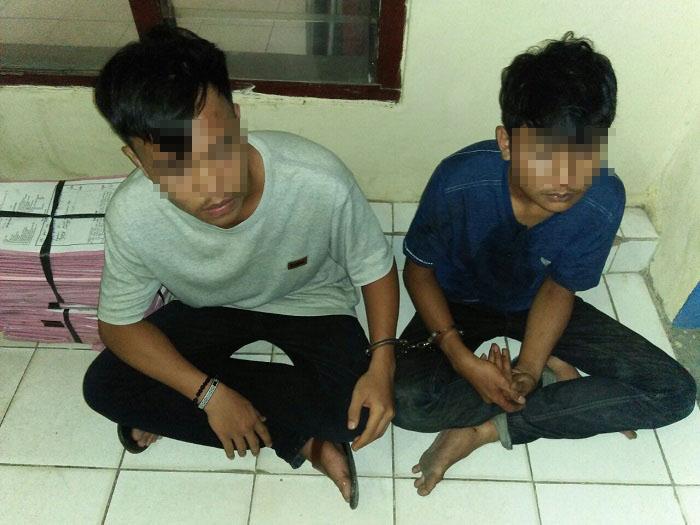 LAMPUNG POST | Dua Penjambret Ditangkap Warga