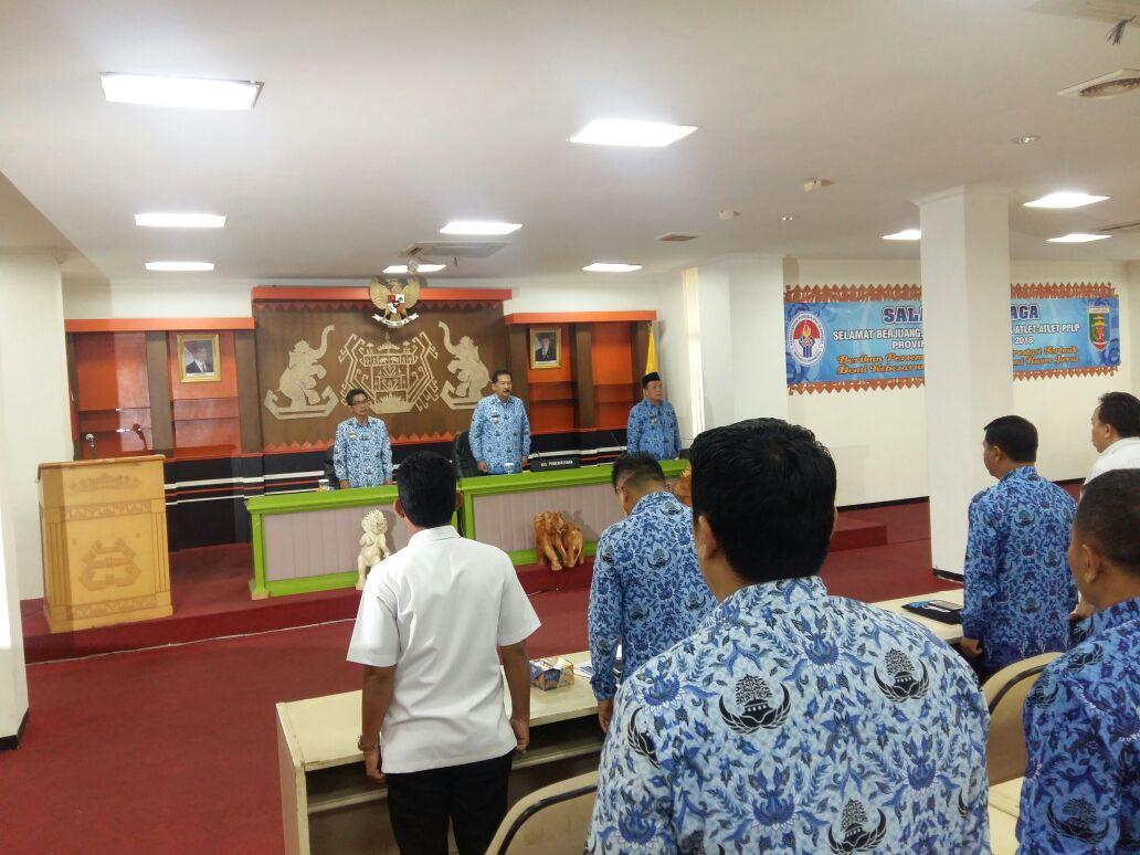 LAMPUNG POST | Pemprov Lampung Lepas Enam Atlet PPLP ke Kejurnas Gorontalo