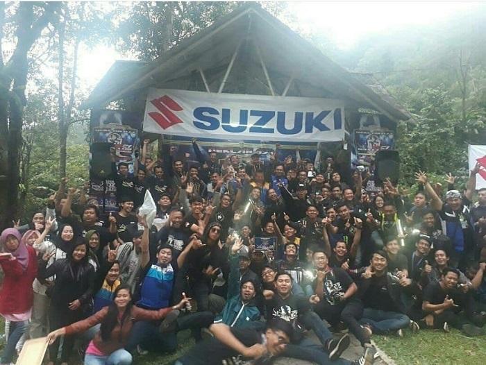 LAMPUNG POST | Komunitas Suzuki GSX Sukabumi Diresmikan