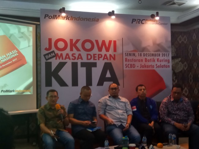 Prabowo Difavoritkan Dampingi Jokowi di Pilpres 2019