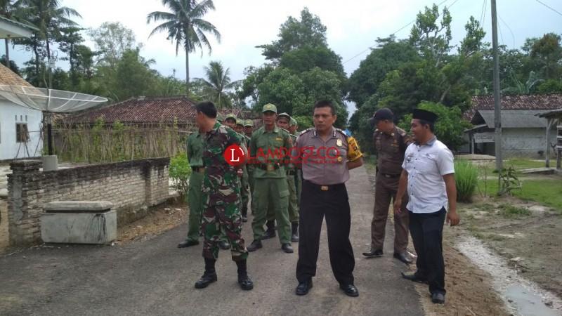 12 Anggota Linmas Desa Bumiasri Diberi Pelatihan