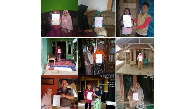 12 Keluarga Penerima Bantuan Warga Miskin di Gunung Alip Mengundurkan Diri