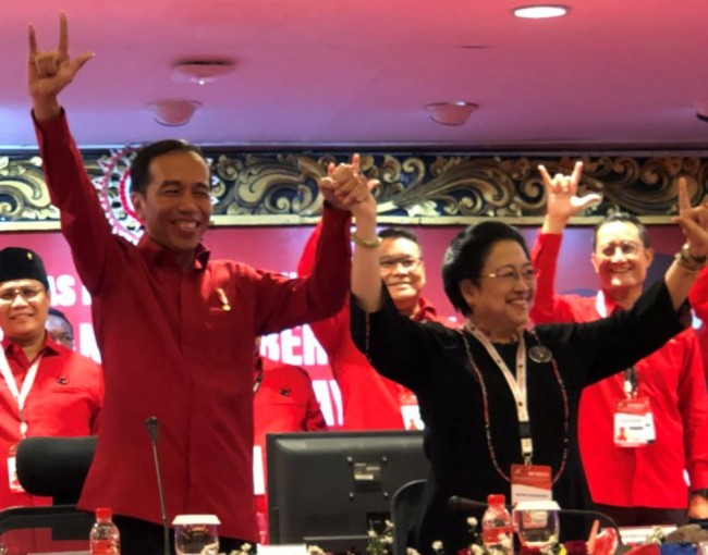 LAMPUNG POST | PDIP Resmi Usung Jokowi di Pilpres 2019