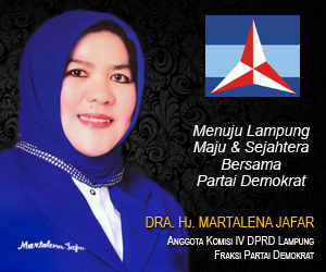 LAMPUNG POST | Martalena Jafar Pimpin Perempuan Demokrat Lampung