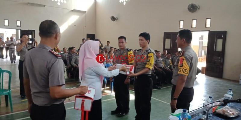 125 Babinkhamtibmas Lampura Ikuti Pelatihan P3K