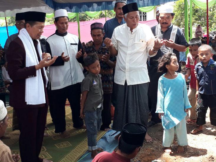 LAMPUNG POST | Peletakan Batu Pertama Pembangunan TQN Ponpes Suralaya Lamtim