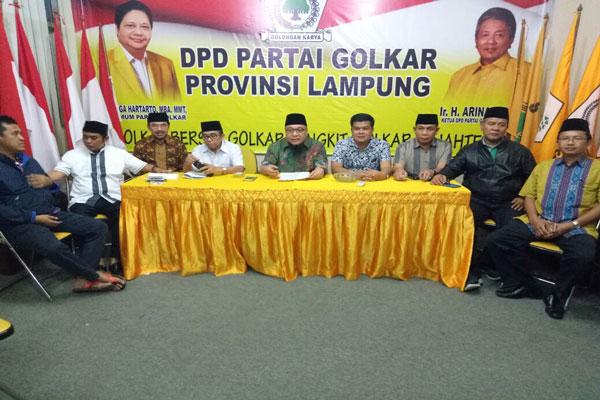 Musa Ahmad Jabat Plt Ketua Golkar Lampung Tengah