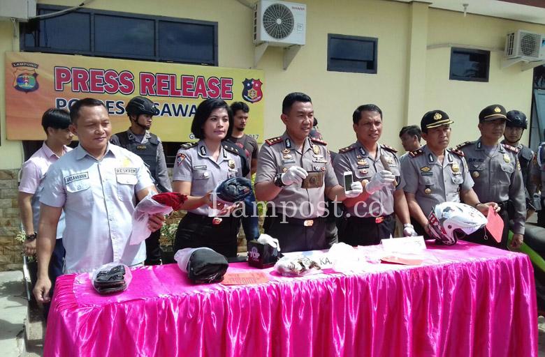 LAMPUNG POST   Polisi Tangkap Pelaku Utama Pembunuh Warga Kedondong di Banyumas