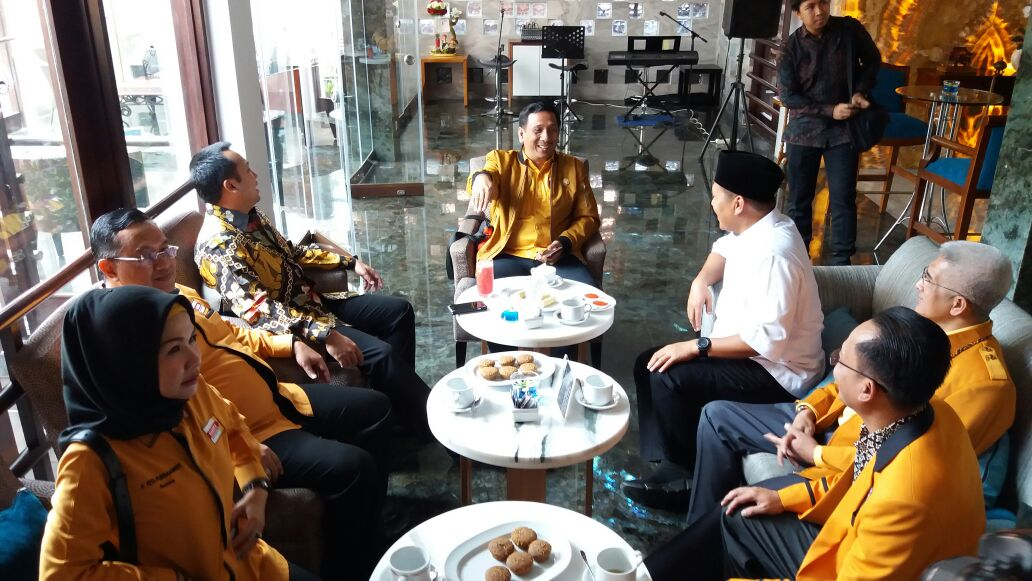 LAMPUNG POST | Ridho dan Mustafa Akrab di Rakerda I Hanura Lampung