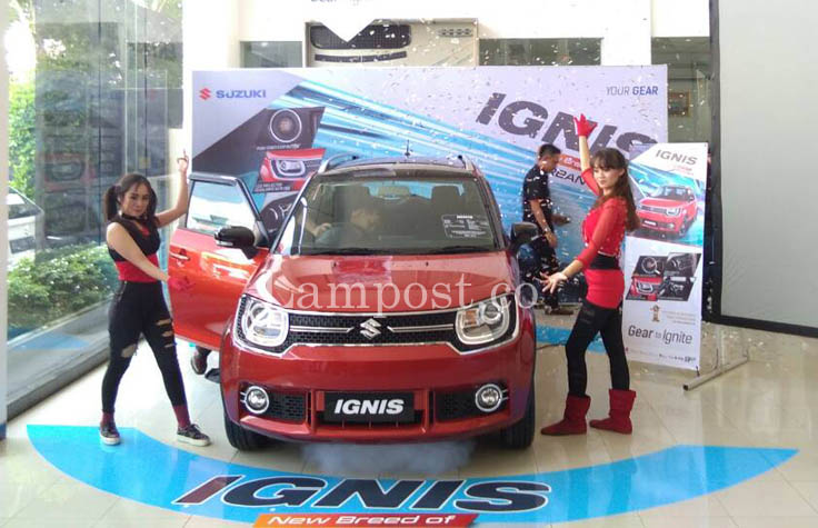 LAMPUNG POST   Suzuki Luncurkan IGNIS Urban SUV Pertama di Indonesia