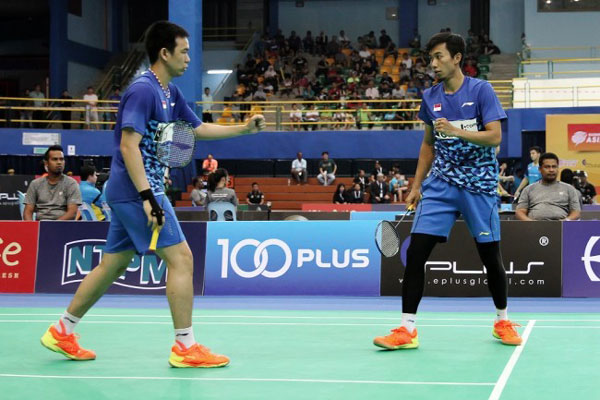 LAMPUNG POST | Tim Putra Indonesia Juara Badminton Asia Team Championships 2018